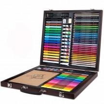 Набор для рисования Xiaomi DELI Painting Set Wooden Box
