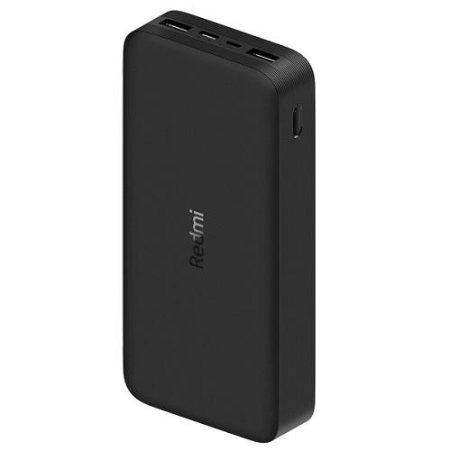 Аккумулятор Xiaomi Redmi Power Bank Fast Charge 20000 mAh, черный