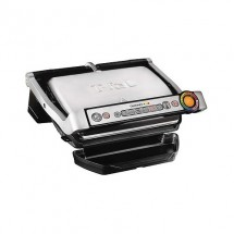 Гриль Tefal Optigrill+ GC712, стальной