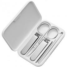 Набор Xiaomi Nail Clipper Five Piece Set, белый/серебристый, 5 предметов