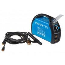 Сварочный аппарат инверторного типа SOLARIS MMA-211 (230В; 20-210 А; 70В; электроды диам. 1.6-4.0 мм; вес 3.9 кг)