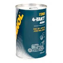 Масло моторное MANNOL 4-Takt Agro SAE 30 0.6л
