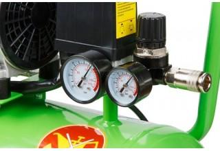 Компрессор безмасляный Eco AE-25-OF1, 24 л, 0.8 кВт