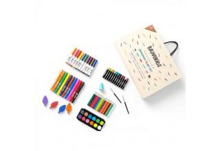 Набор для детского творчества Xiaomi BravoKids Art Set (69 pcs.)