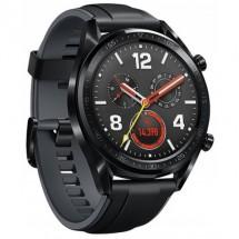 Умные часы Huawei Watch GT Sport FTN-B19 (стальной черный)