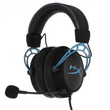 Игровые наушники HyperX Cloud Alpha S Blue (HX-HSCAS-BL/WW)