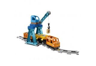 """Конструктор LEGO Duplo 10875 """"Грузовой поезд"""""""