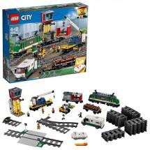 Конструктор LEGO City 60198 Грузовой поезд