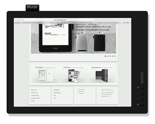 Электронная книга ONYX BOOX MAX Carta