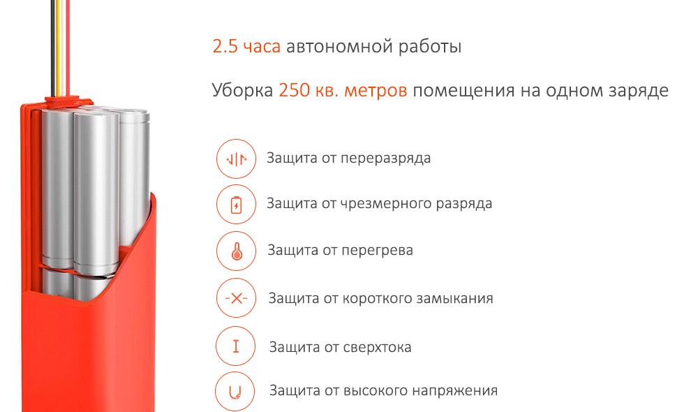 Робот-пылесос Xiaomi Mi Robot Vacuum Cleaner (Глобальная версия)